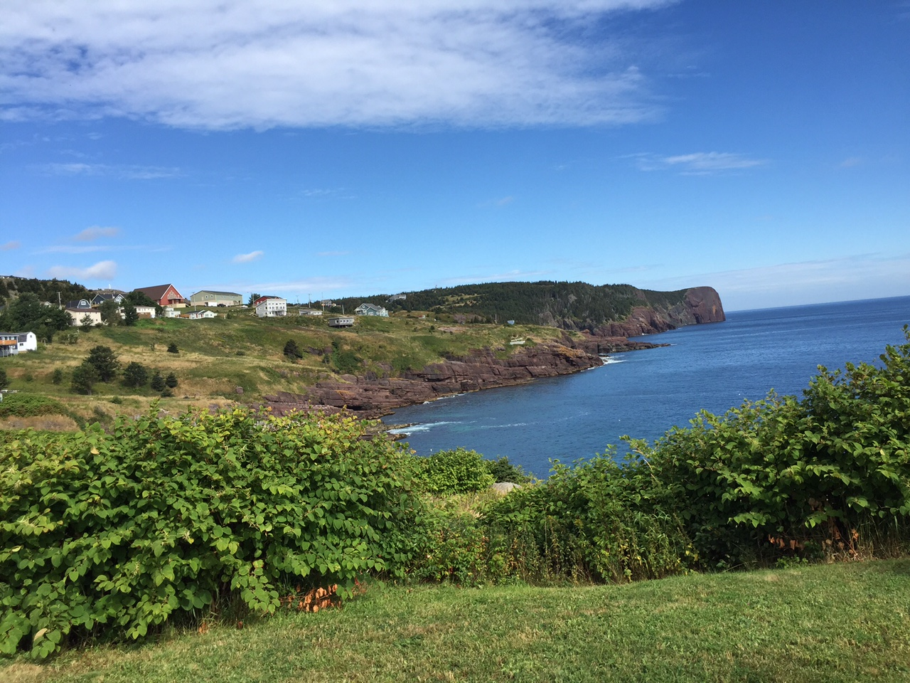A breathtaking view in Flatrock, Newfoundland